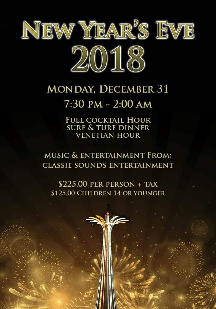 New Year's Eve at Gargiulo's